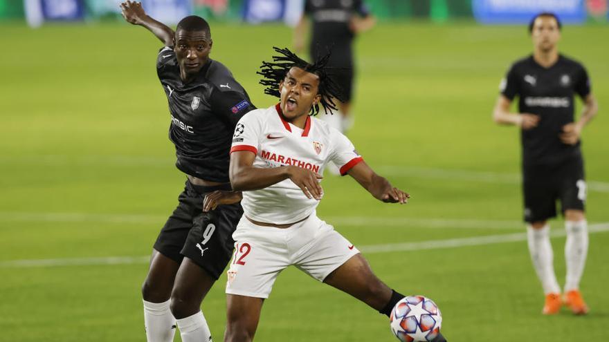 El Sevilla logra su primer triunfo ante el Rennes