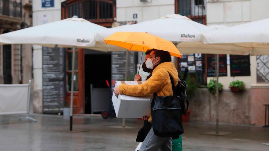 Tiempo en Valencia: alerta por lluvia y granizo