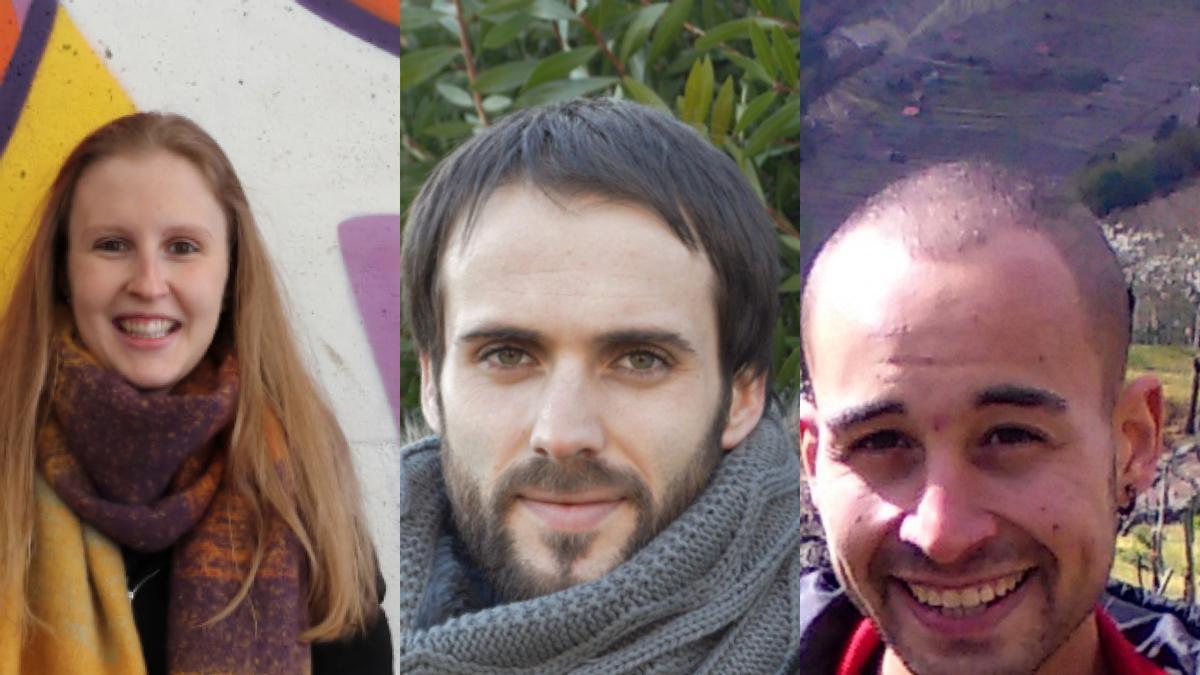 Sabela Rivas, Samuel Fernández y Cristian Iglesias, notas destacadas en los premios fin de carrera y los tres de la Universidade de Vigo (UVigo).