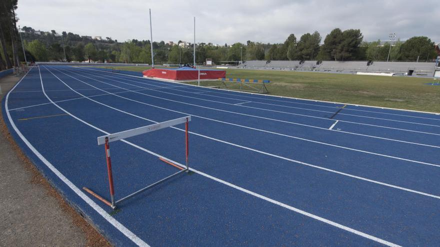 Manresa posa al dia les instal·lacions de la zona esportiva del Congost
