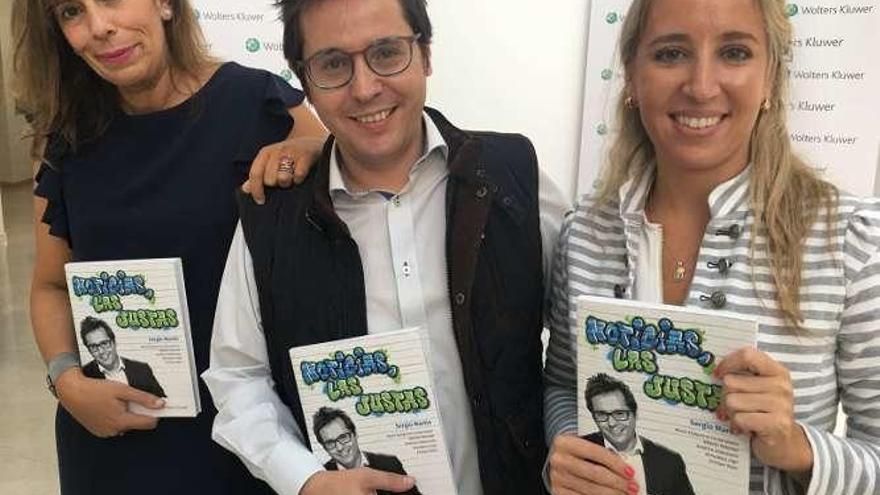 """El periodista Sergio Martín coordina el libro """"Noticias, las justas"""""""