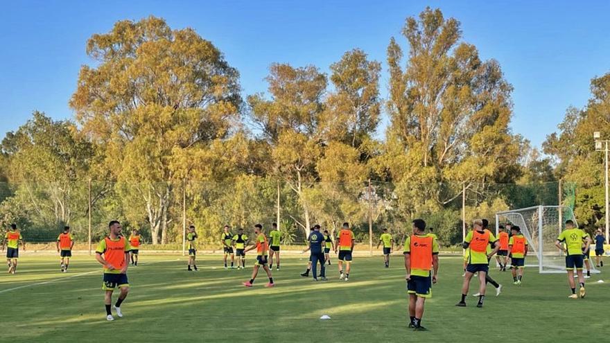 Llegada a Marbella, entreno y amistoso contra el Espanyol