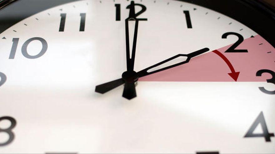 La madrugada del domingo, en Canarias a las 02.00 horas volverá a ser la 01.00