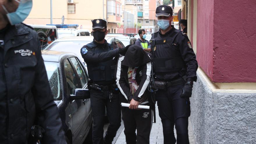 Desmantelan un narcopiso en el centro de Murcia y detienen al presunto responsable