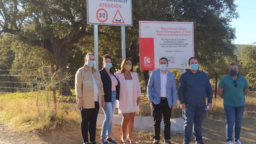 La Diputación invertirá 170.000 euros en arreglar un camino de Villanueva del Rey