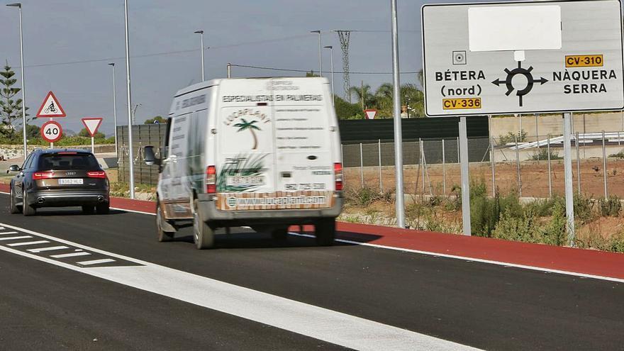 La apertura de la ronda de Bétera saca a 12.000 vehículos del centro