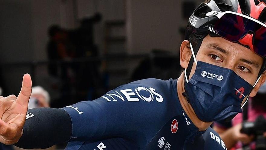 Egan Bernal asalta el liderato del Giro con un brillante triunfo de etapa
