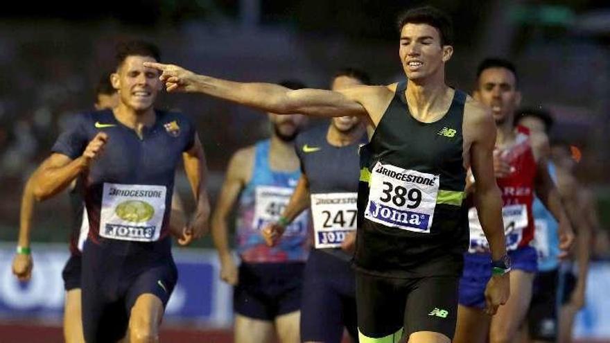 El atleta español Mechaal anunció que el TAS ha anulado la sancion de la AEPSAD