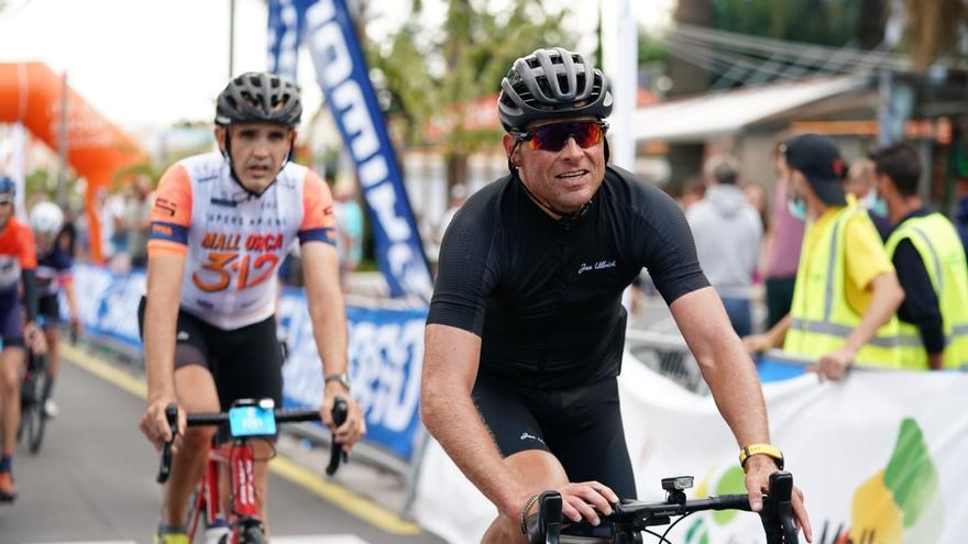 Jan Ullrich schafft die 312 Kilometer beim Radrennen Mallorca 312