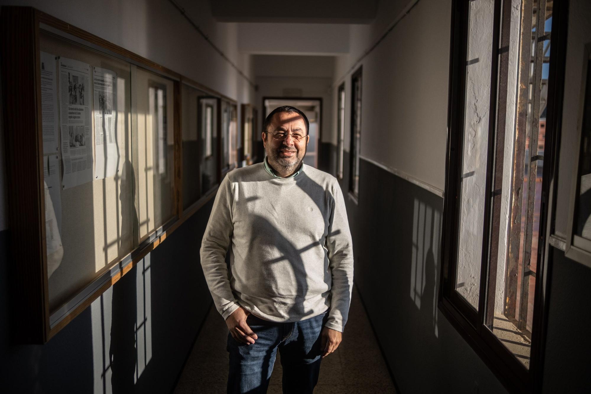 David Pérez, profesor de la ULL