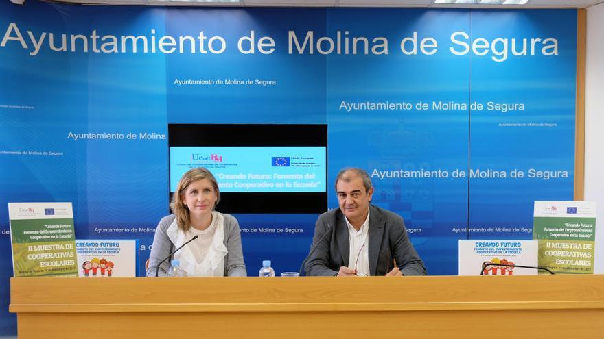 Molina de Segura acoge la feria de cooperativas de enseñanza