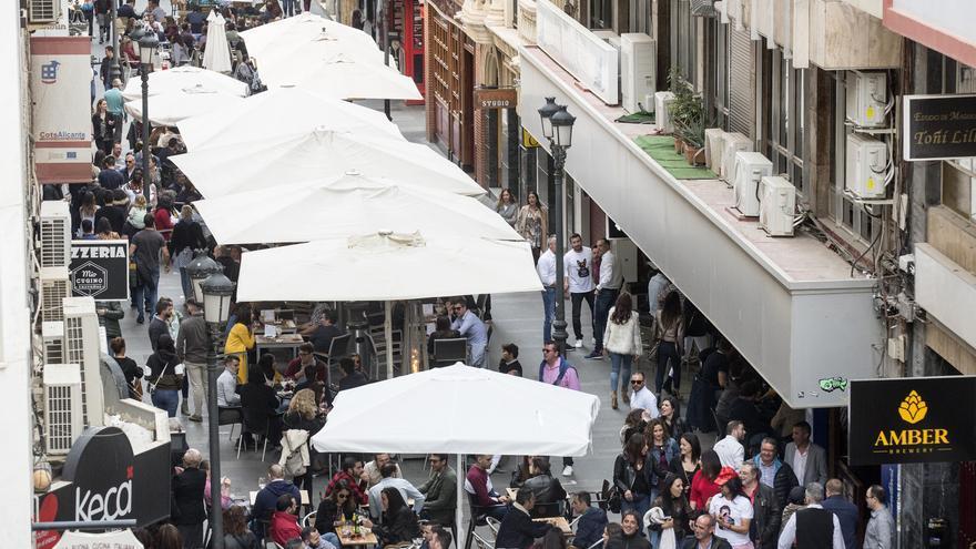 Alicante retrasa las medidas contra el ruido en el entorno de Castaños por la pandemia