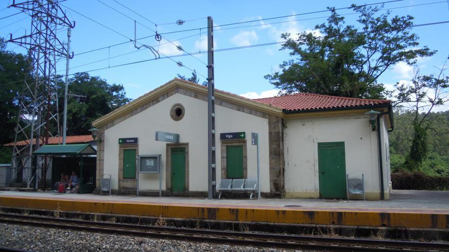 Restablecido el tráfico ferroviario en la línea Vigo-Ourense
