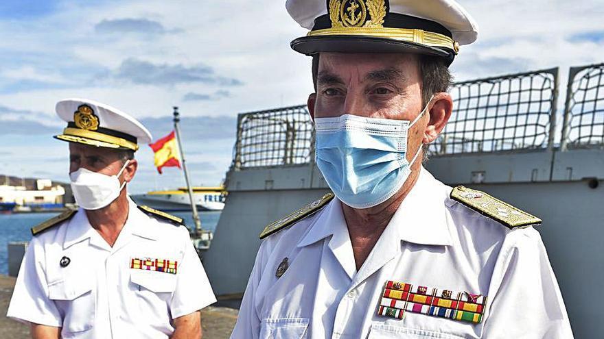 El Almirante de la Flota asegura que están listos para otra operación Balmis
