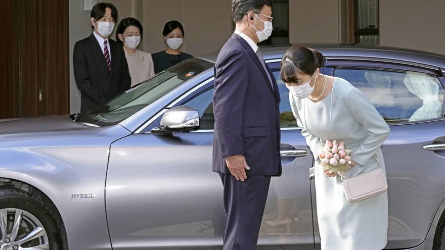 La princesa Mako se casa y abandona la familia real nipona