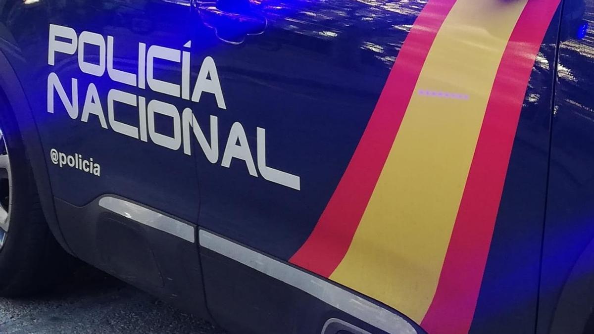La Policía Nacional tuvo que rescatar al menor.