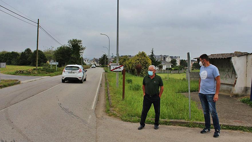 Piden mejoras de la seguridad vial entre Barres y Figueras