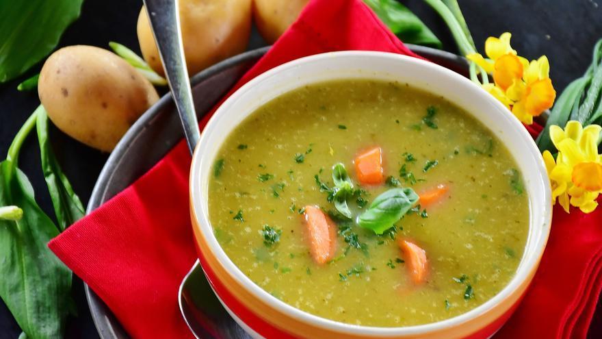 La sopa con alto contenido en fibra ideal para perder peso y prevenir enfermedades