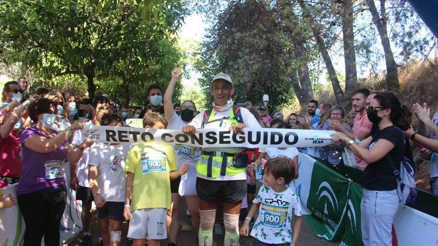 Curro Arcos corre 900 kilómetros solidarios