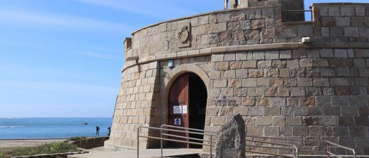 Entrada del Museo del Mar de A Guarda.