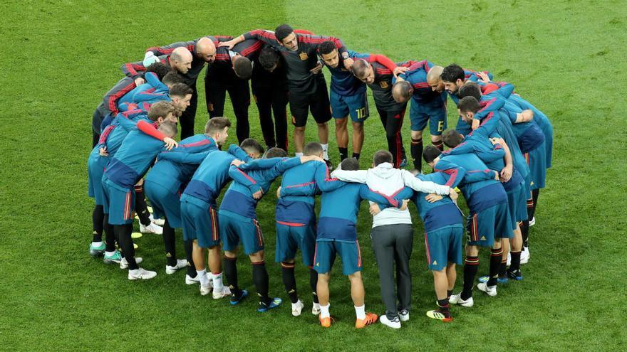 España se alía con el VAR y jugará contra Rusia en octavos