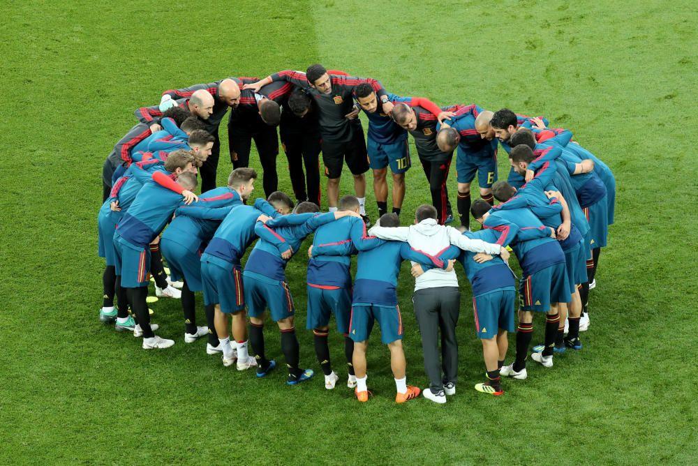 Mundial de Rusia: España Marruecos