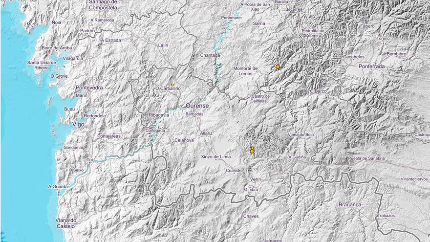 Los terremotos vuelven a Laza y se extienden a O Carballiño y Folgoso do Courel