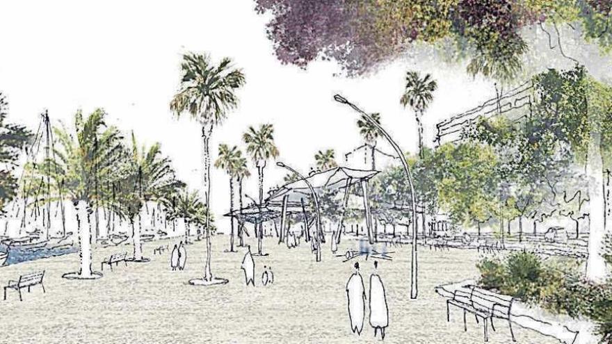 So soll die Uferpromenade von Palma de Mallorca künftig aussehen