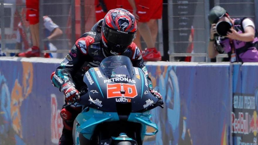 La ausencia de Márquez deja a los pilotos de Yamaha como grandes favoritos en Brno