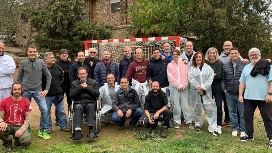 Grup Maas participa en l'adequació d'un espai d'acollida a Castellnou