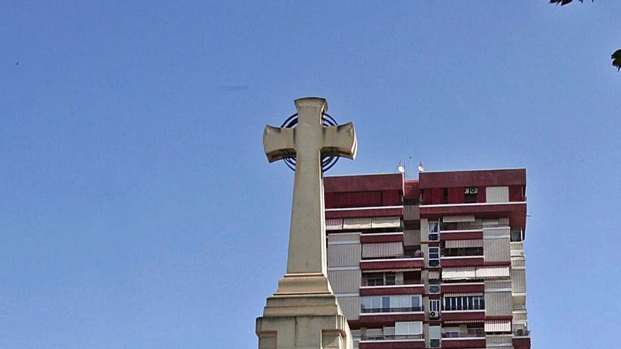 Una cruz con origen republicano
