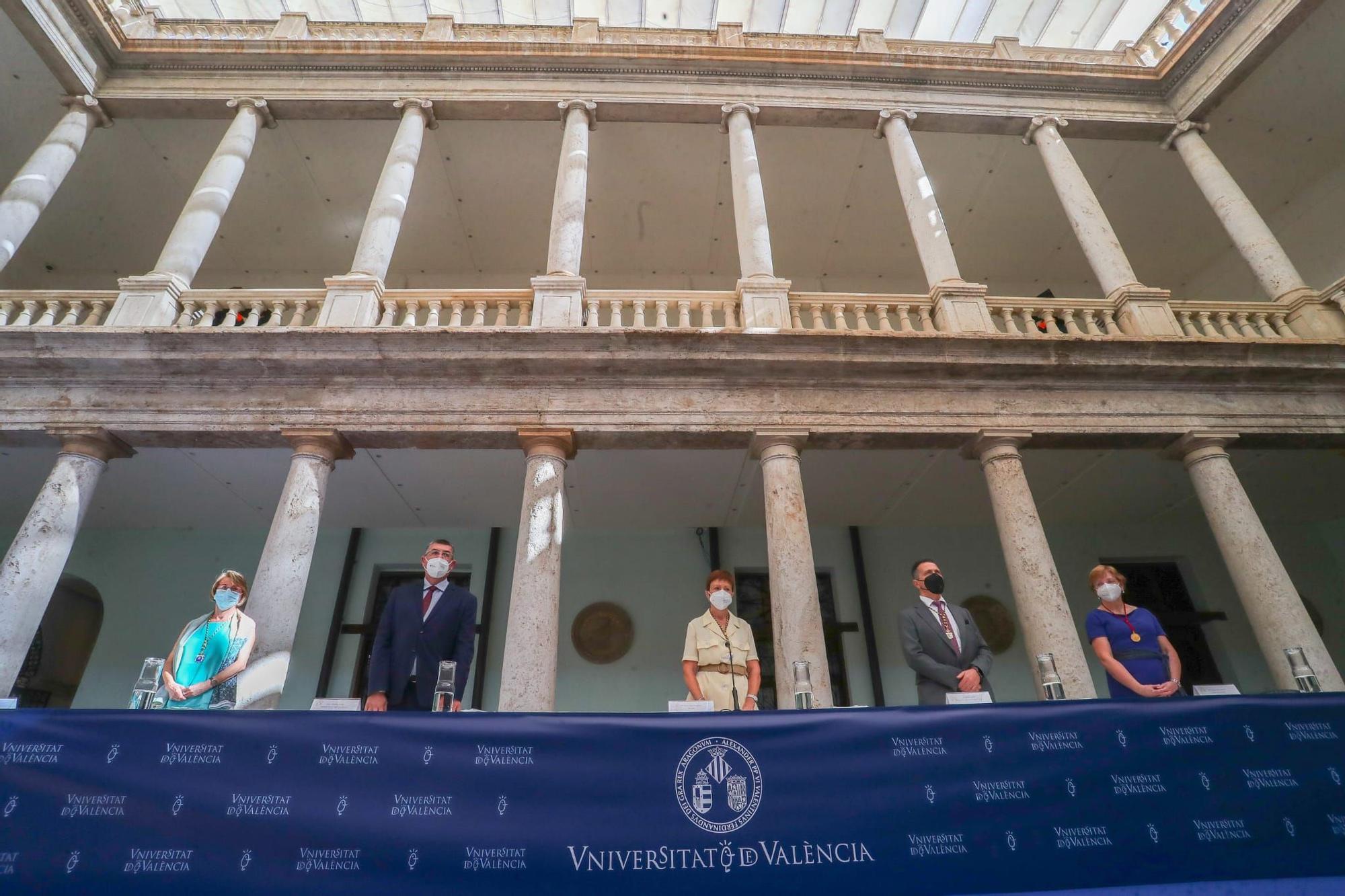 lnicio de curso de la Universitat de València