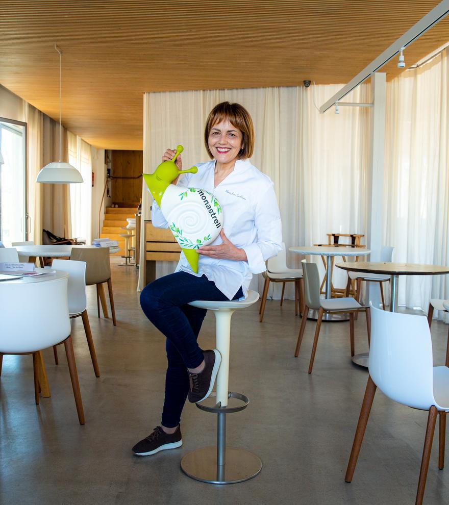 El optimismo en la alta cocina de María José San Román