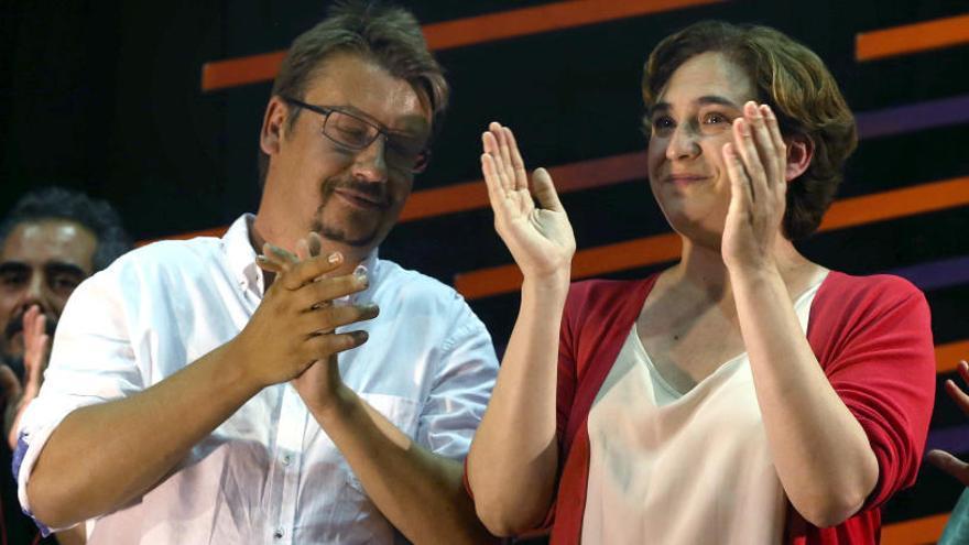 El partido de Colau no apoyará el referéndum en Cataluña