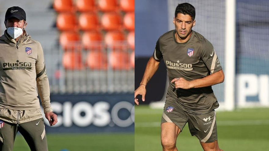 """Simeone, encantado con Luis Suárez: """"Encontré ilusión y ganas de estar aquí"""""""