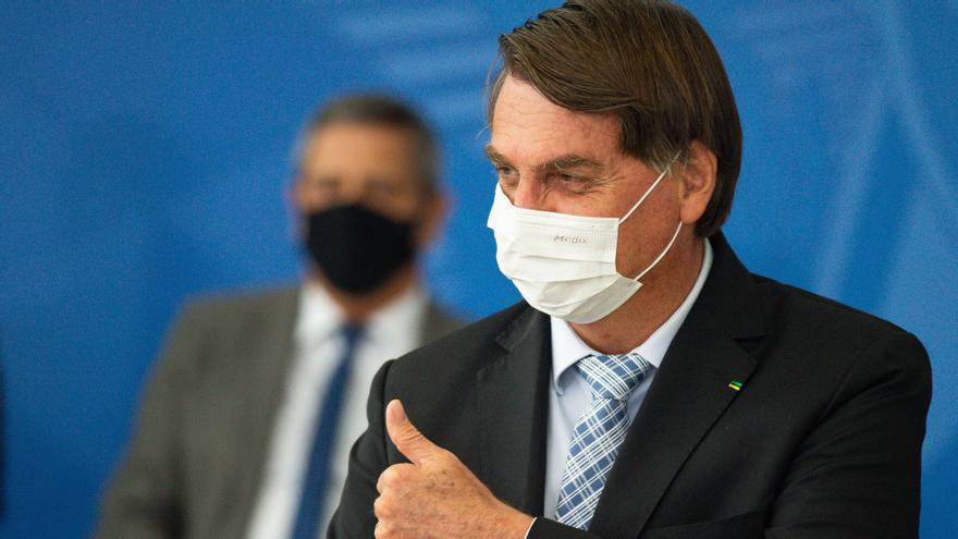 """""""Fuimos un ejemplo para el mundo"""", dice Bolsonaro de su gestión de la pandemia"""