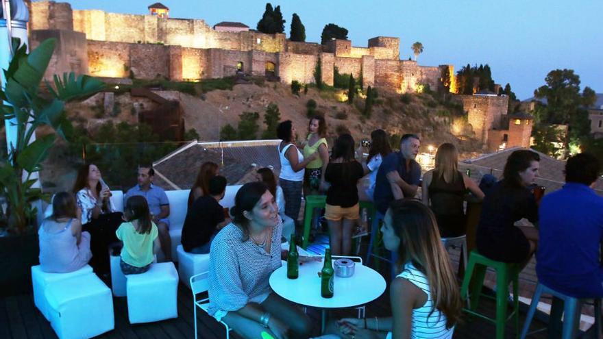 Las mejores terrazas con vistas en Málaga