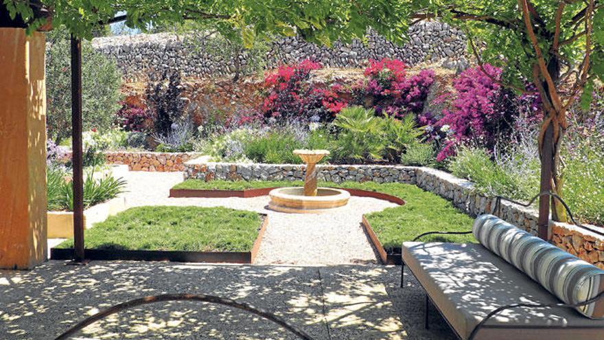 Gartenarchitekt Whitings Gespür für Harmonie