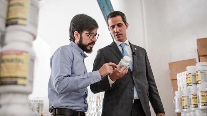 Guaidó gestiona la ayuda humanitaria.