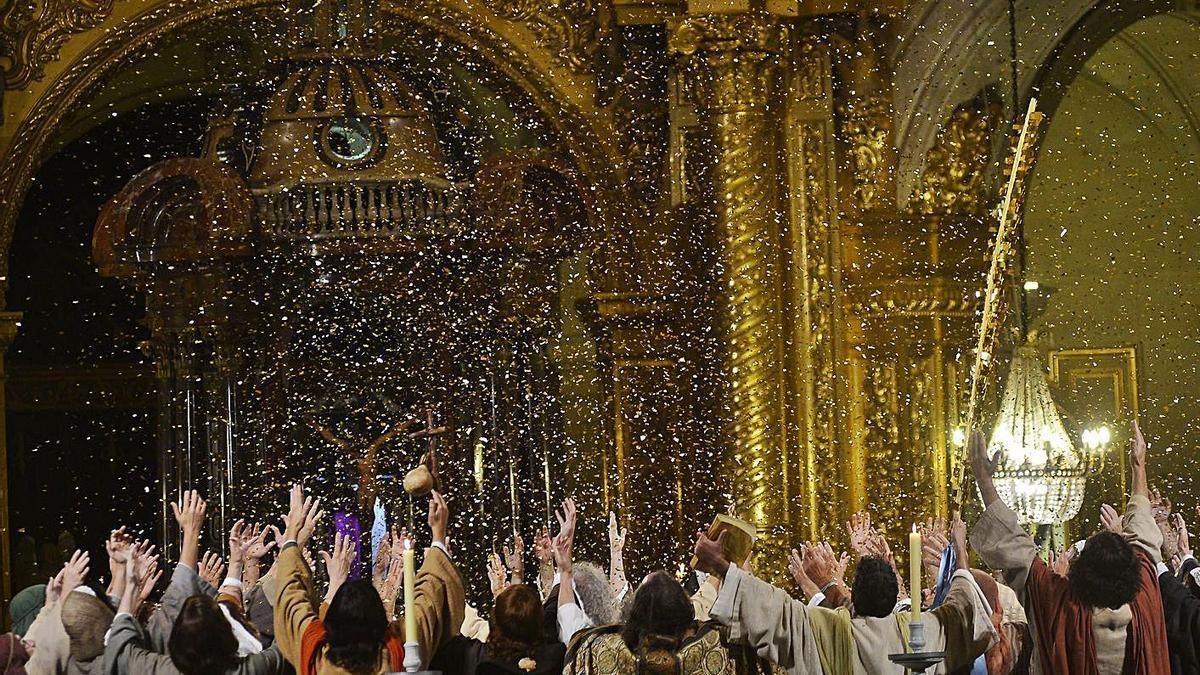 La Coronació de la Mare de Déu, una de les escenes de 'La Festa'. | MATIAS SEGARRA