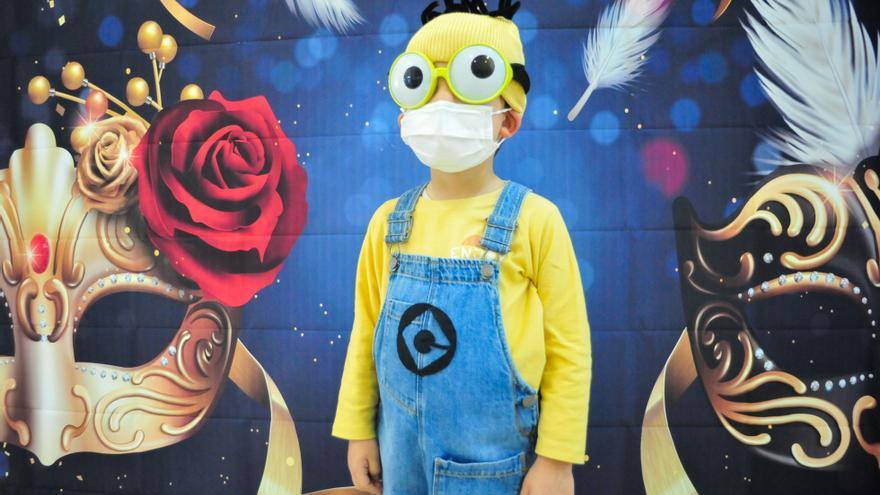 Carnaval infantil en los colegios de Vilagarcía