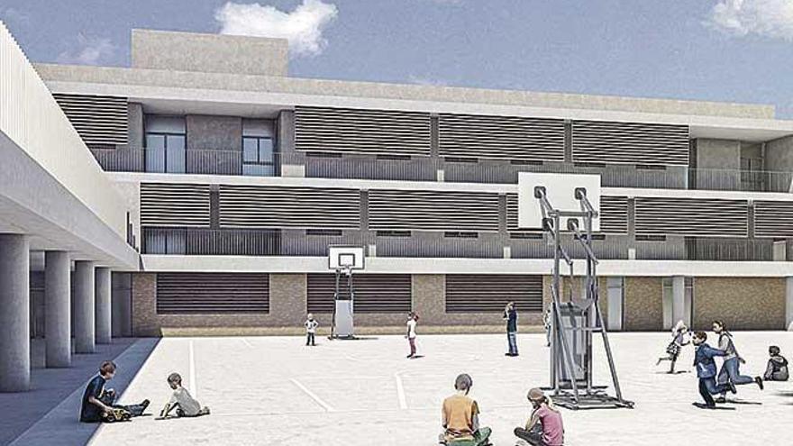 Educación entrega al Consistorio el proyecto del nuevo colegio de Campos
