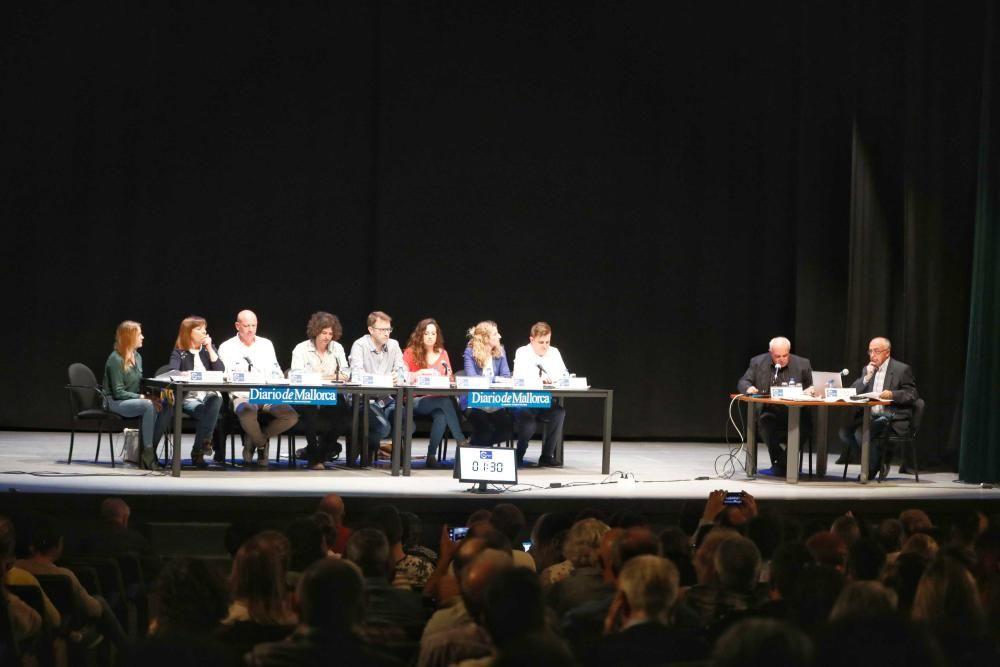 Debate electoral con los candidatos a Manacor