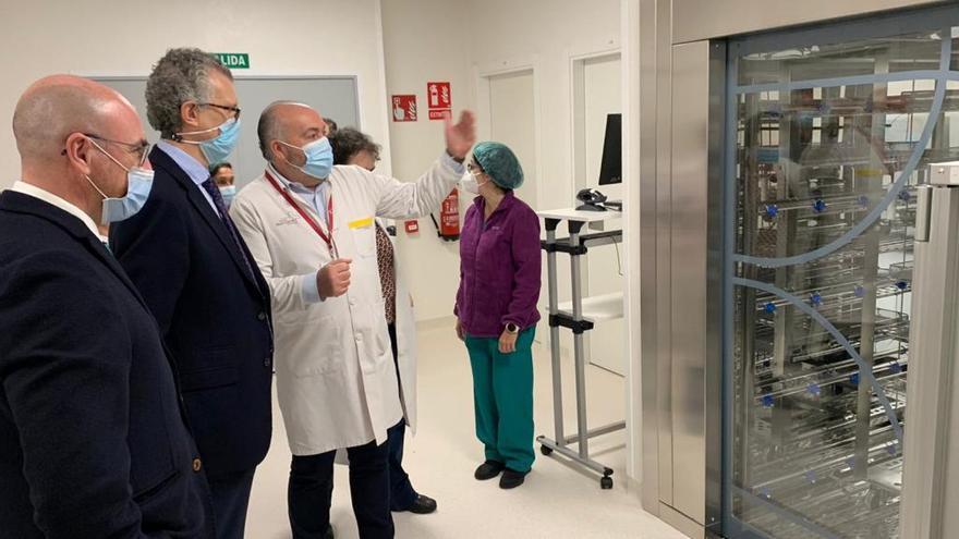 Nueva central de esterilización para el Rafael Méndez de Lorca