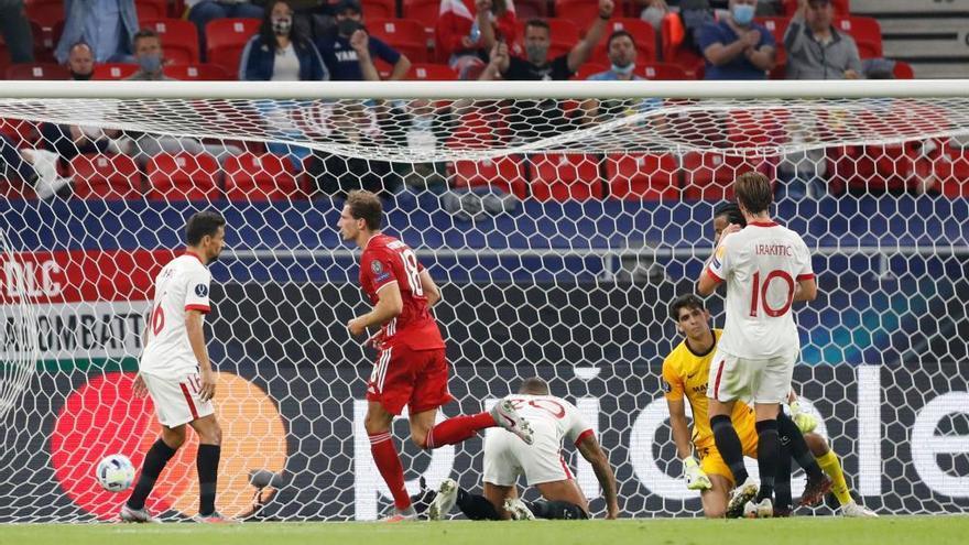 El Bayern se hace con la Supercopa ante un gran Sevilla