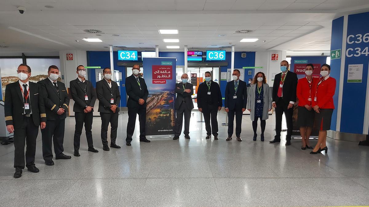 El aeropuerto de Málaga-Costa del Sol estrena una ruta a Nador.