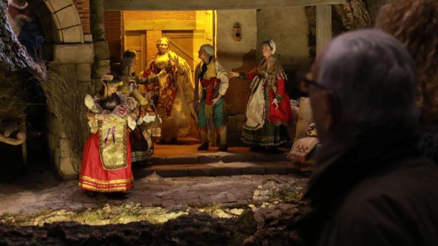 Belén napolitano en la Catedral de Zamora