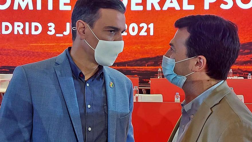 Caballero defiende su proyecto en el PSdeG ante el congreso que se celebrará a final de año