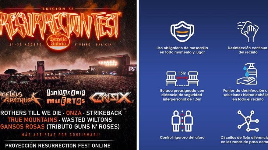 Cancelado el Resurrection Fest en formato reducido al no ceder el Ayuntamiento de Viveiro las instalaciones