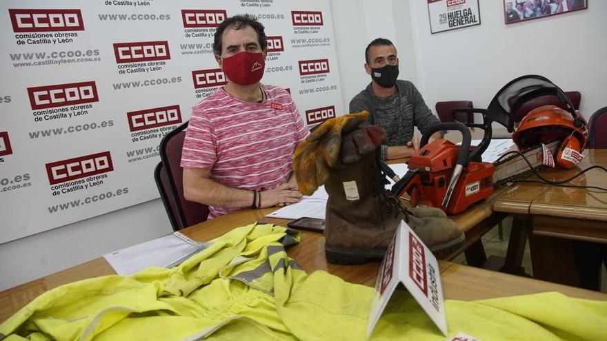 """CC OO denuncia la """"precaria"""" situación del cuerpo de prevención de incendios en Zamora"""